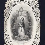 SOUS LE ST. SACREMENT LE CHRETIEN EST A' L'ABRI DE TOUT DANGER. (Sotto il SS. Sacramento il Cristiano è libero da qualsiasi pericolo)