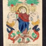 IMMAVULATA CONCEPTIO S. MARIA (Immacolata concezione di S. Maria)