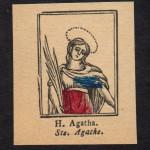 H. AGATHA (S. Agata)