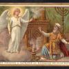 04  L'Angelo annuncia a Zaccaria la nascita di Giovanni Battista