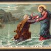 49 Gesù cammina nell'acqua
