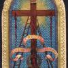 Copertina del libretto contenente i santini della Via Crucis